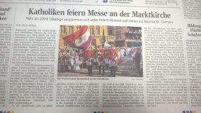 Fronleichnamsprozession in Hannover