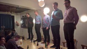 Singstunde: Einüben des Teuto-Rhenanen Bundesliedes